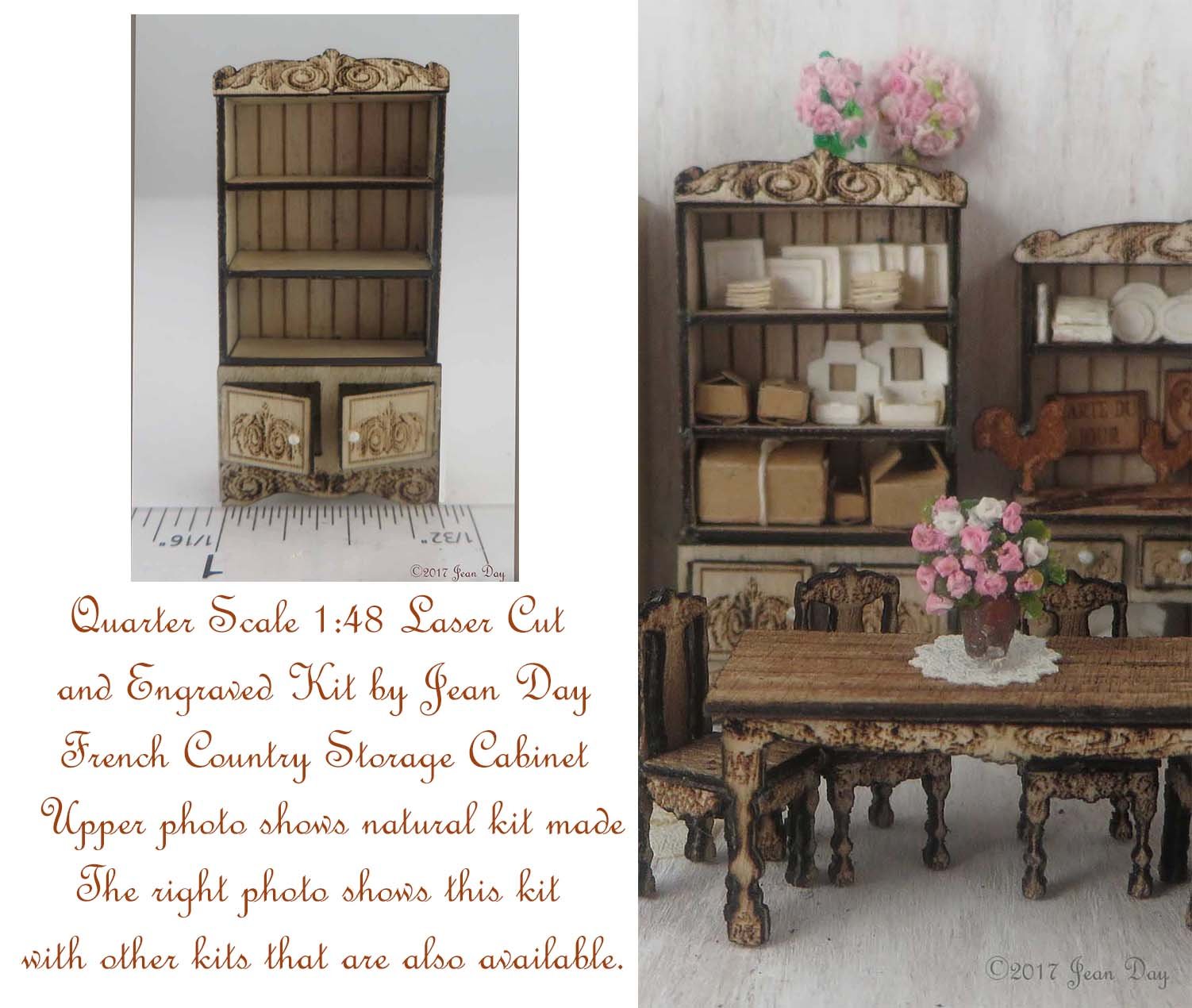 French Country Storage Cabinet LC048