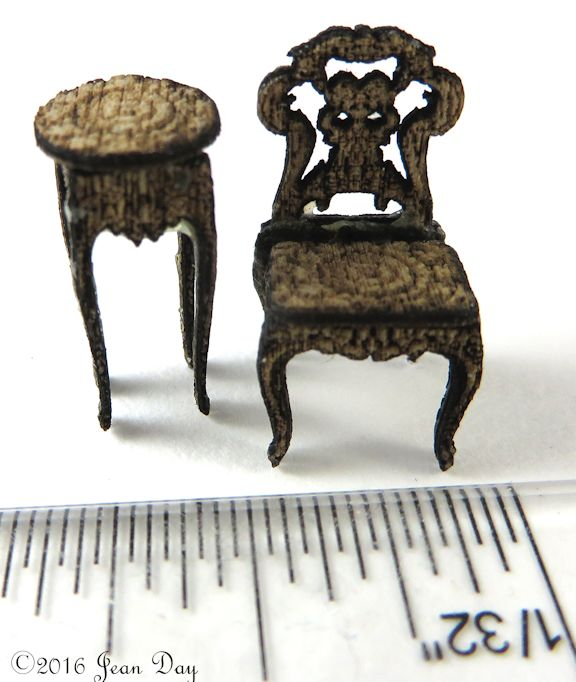 French Country Chair, Table or Fern Stand LC029