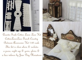 French Country Lace Bedroom Accessories LQ033