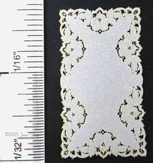 LL Runner French Rose Cutwork Style LL135