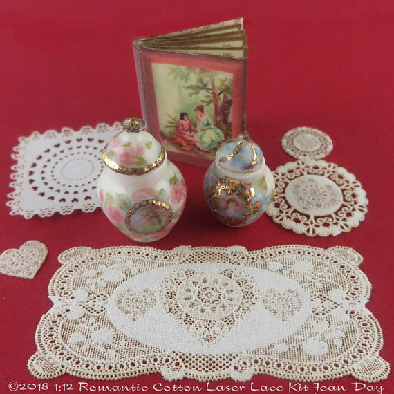 LL Romantic Valentine Lace Grouping LL164