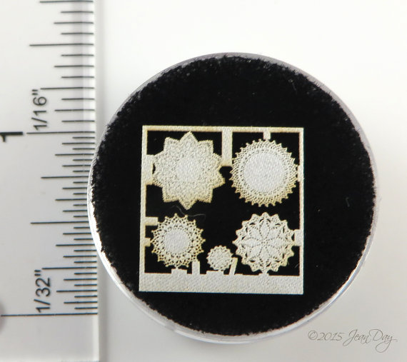 Laser Lace in Cotton Doily Grouping 1; 1:48 LQ004L