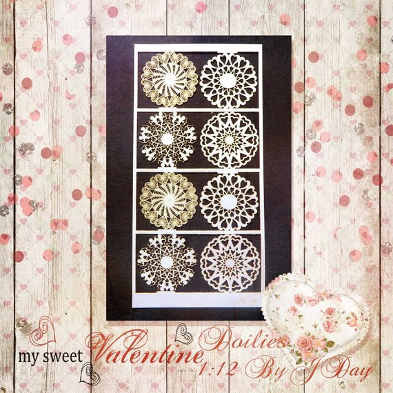 PD Paper Doilies, My Sweet Valentine PL179