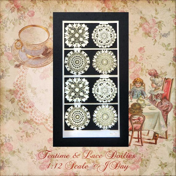 PD Paper Doilies, Teatime and Lace PL180